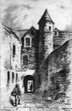 Sketch by Reginald P Phillimore - Playhouse Close