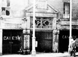 Gaiety Theatre, Leith  -  Photograph taken about the time of its closure.  When was that?