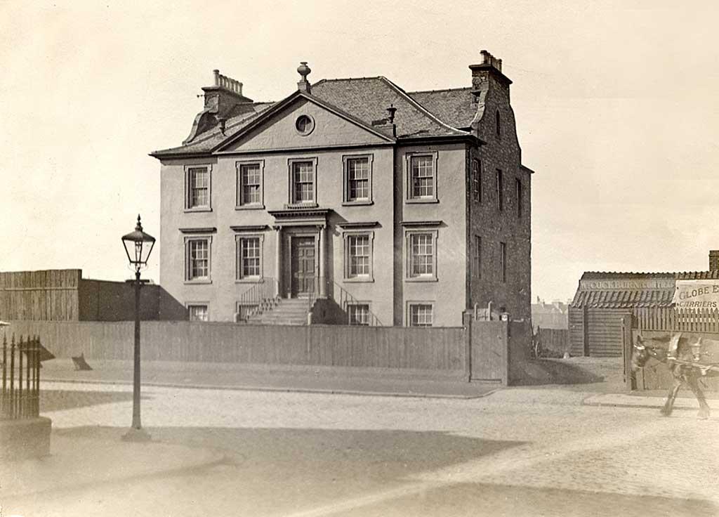 Photograph Of Gayfield House 1912 Part Of The Edinburgh