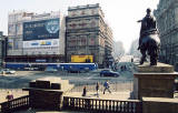 The GPO and North Bridge  -  View from the steps of Register House  -  April 2003