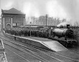 Granton Gas Works  Station, Official Opening of the Gas Works,  1903