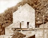Greenland Mill on the Water of Leith, downstream from Dean Bridge - Photographed probably pre-1881