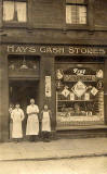 Hay's Cash Stores, opposite John Knox House, High Street, Edinburgh