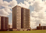 Hermiston Court, Sighthill North  -  Photogarph taken 1987
