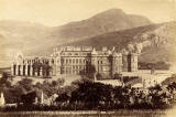 George Washington WIlson's Albumen Print of Holyrood Palace and Arthur's Seat