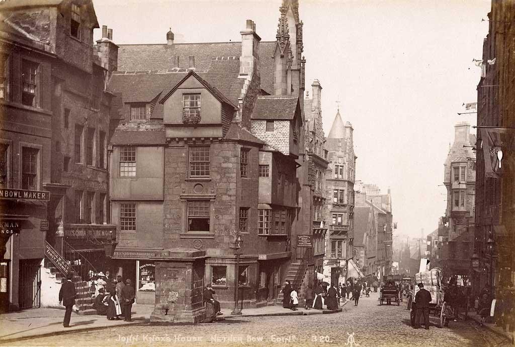 Views of edinburgh by alex a inglis john knox house for Classic house edinburgh