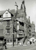 Photograph by Norward Inglis  -  John Knox House in the Royal Mile