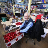 The Lady Haig Poppy Factory, Warriston, Edinburgh - Photo taken January 2015