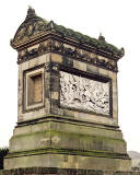 The north side of the Christie Miller Mausoleum in Craigentinny Crescent  -  view from the NE