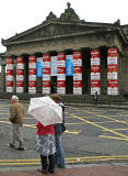 Andy Warhol Exhibition at the National Gallery of Scotland, The Mound, Edinburgh  -  September 2007