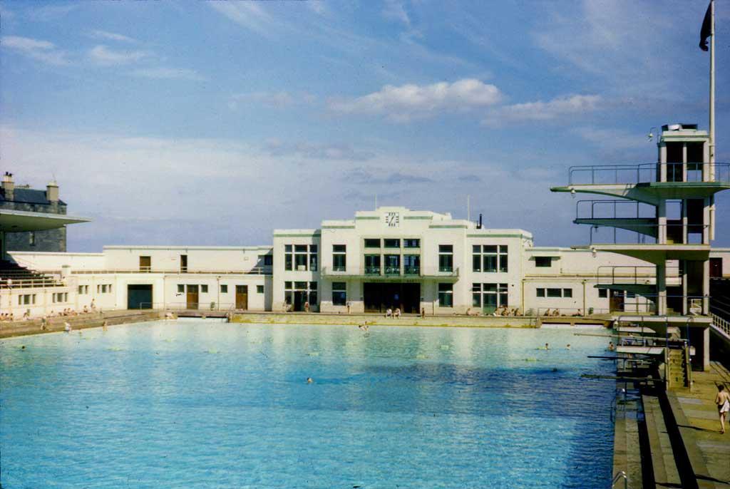 Portobello Open Air Bathing Pool 1960