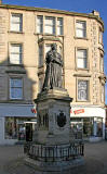 Statue to Queen Victoria at the Foot of Leith Walk
