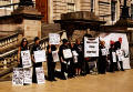 Protest outside Register House  -  June 2004