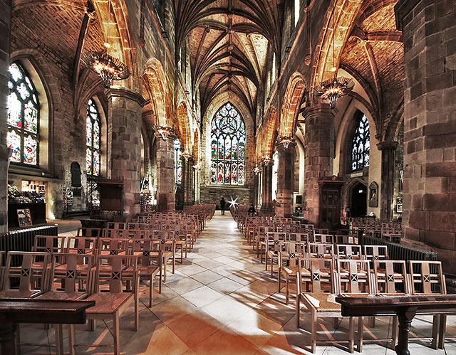 St Giles Cathedral Inside