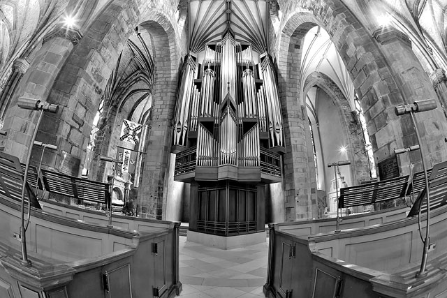 St Giles Caathedral  -  The Organ