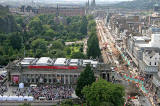 View from the Scott Monument  -  looking west -  August 2009