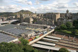 View from the Scott Monument  -  August 2009
