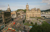 View from the Scott Monument  -  looking east  -  August 2009