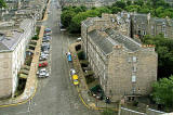 View from the top of the tower at St Stephen's Church, Stockbridge, looking sputh to St Vincent Street - 2010