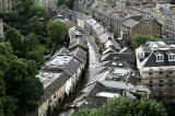 View from the top of the tower at St Stephen's Church, Stockbridge, looking west - 2010