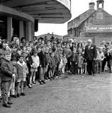 Queue outside The State Cinema, Great Junction Street, Leith