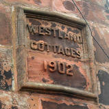 Westland Cottages, Ravenscroft Street - 2011