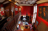 The Writers' Museum, Lady Stair's Close, Lawnmarket, Edinburgh  -  Looking down from the balcony