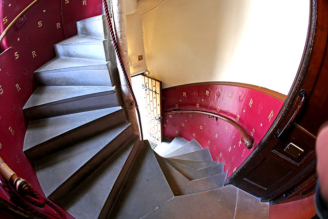 The Writers' Museum, Lady Stair's Close, Lawnmarket, Edinburgh  -  Spiral Staircase