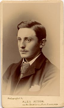 Alex Ayton jun  -  Carte de Visite  -  No 8  -  front
