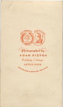 The Back Of A Carte De Visite By Adam Diston
