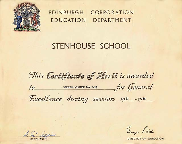 Superior Brooke Bond Certificate Of Merit For Junior Art, 1968 Throughout Merit Certificate Comments