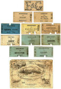 Old Railway Tickets  -  Edinburgh & Glasgow Railway