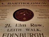 Record Sleeves  -  Edinburgh Record Shops  -  Bartholemew, 21 Leith Walk
