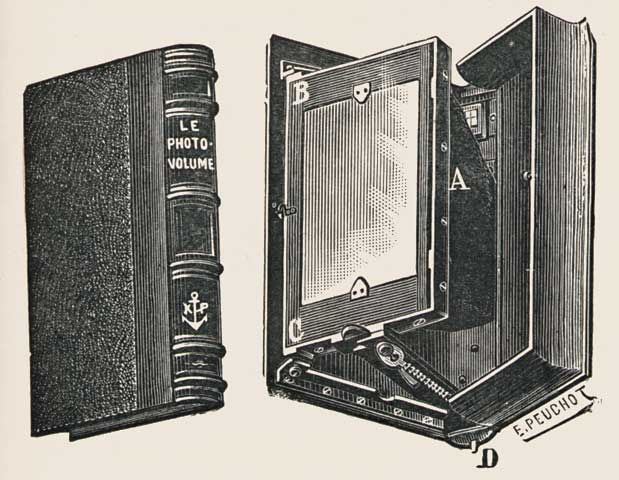 Photographic Equipment in the 1890s  -  Novelty Camera