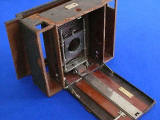 Kodak No 5 Cartridge Camera with a Lennie name plate  -  camera as found