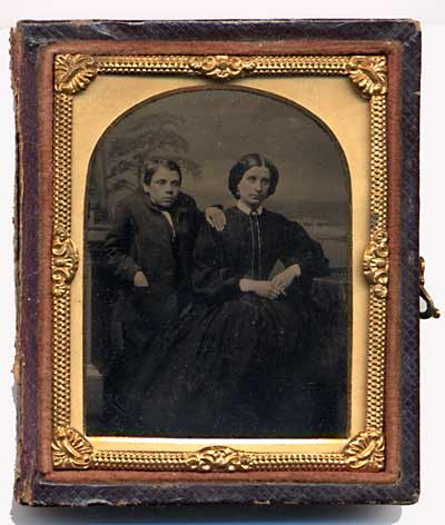 Ambrotype by Robert Armstrong - Front of photo