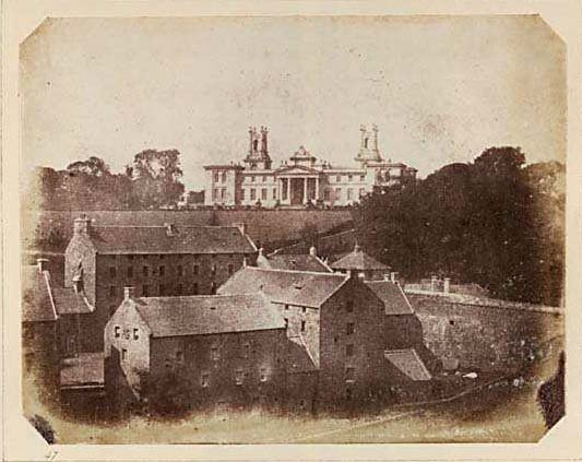 Photograph from Edinburgh Calotype Club album  -  Volume 2, Page 35  -  Dean Orphanage