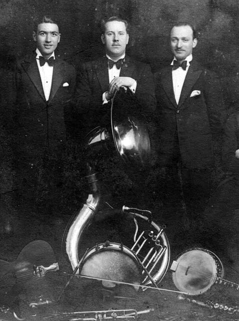 Edinburgh Dance Band in the 1920s