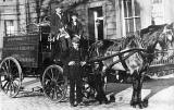 A St Cuthbert's Dairy Horse and Cart  -  around 1900