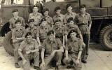Pilton and Granton REME boys at Newquay TA Camp July 1951