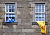 Photos taken in Edinburgh on the two days leading up to the Scottish Referendum Vote on 18 September 2014