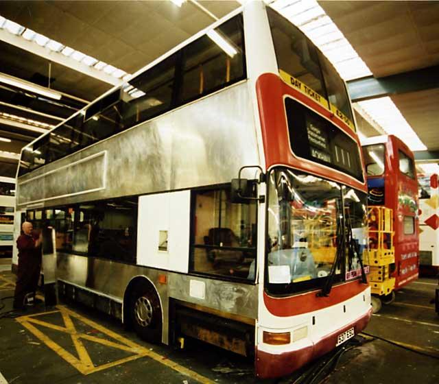 Seafield Works Lothian Buses