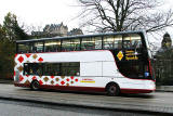New bus on the newly branded Route 44, near the West End of Princes Street  -  November 2005
