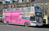 Lothian Buses  -  'All OverAdverts' on buses  -  Bus 785  -  Digital TV Switchover