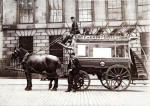 Horse bus at Leopold Place