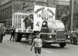 One of the lorries in the Leith Carnival, 1964