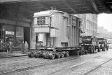 Bruce Peebles Transformer being delivered to Portobello Power Station, 1952