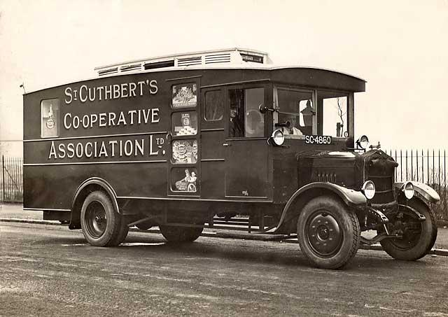 St Cuthbert 39 S Cooperative Association Ltd Delivery Van