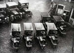 Edinburgh Corporation Transport  -  Dumper Trucks and Lorries  -  Photograph probably taken during the 1920s