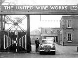 The Company Car at the entrance to United Wire Works, Granton Park Avenue, Granton